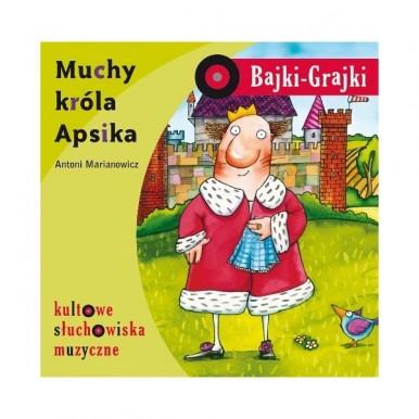 """Bajki na CD """" Muchy Króla Apsika"""""""