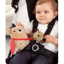 Zabawka do wózka Hug&Hide Sowa Skip Hop
