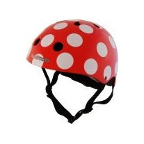 "Kask Kiddimoto Red Dotty ""M"""