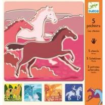 Szablony Konie Djeco