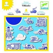 Zestaw Stempli Pojazdy Djeco