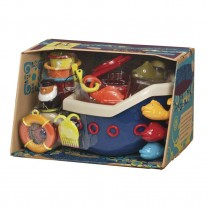 Zestaw Statek Fish & Splish B.Toys