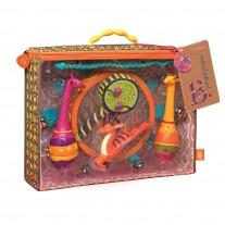Zestaw instrumentów afrykańskich Jungle Jingles B. Toys