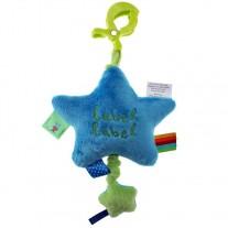 Pozytywka Star niebiesko zielona Label Label