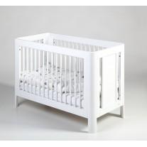 Łóżeczko Dziecięce Sun 120x60 Białe Troll