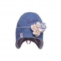 Czapka Flower  Niebieska Lodger 6-12 M