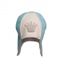 Czapka King Niebieska Lodger 3-6 M