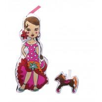 Lalka do Pomalowania Hiszpania Avenue Mandarine