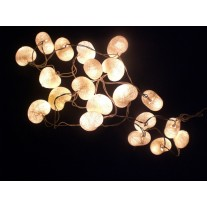 Lampki  Rózowe Serca  35szt. Cotton Ball Lights