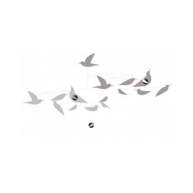 Zawieszka ozdobna białe ptaki  Djeco