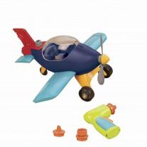Aeroplane - Samolot z wiertarką do samodzielnego montażu B.Toys