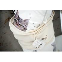 Kocyk Przedszkolaka Kot w Butach, 4 kolory polaru Minky, Blanket Story