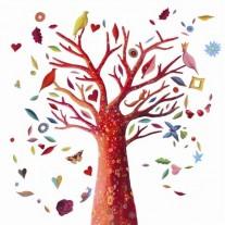 Naklejka  Drzewo Djeco