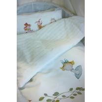 Kołderka i poduszka Alicja w Krainie Czarów 75x100, 30x40 cm Blanket Story