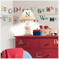 Naklejki Alfabet Room Mates