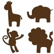 Naklejki Zwierzęta Dżungli Wall Pops