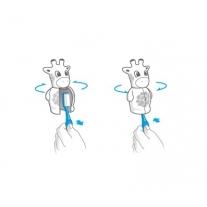Flipper Krówka - uchwyt do szczoteczki do zębów