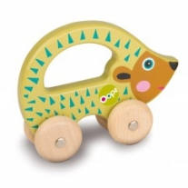 Drewniana zabawka Easy Go Jeż Oops