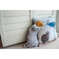 Poduszka Kot w Butach, 40 x 40 cm, 4 kolory polaru Minky, Blanket Story