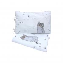 Pościel 3 el. 80 x 100 cm Kot w Butach Blanket Story