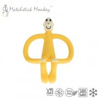 Matchstick Monkey Yellow Gryzak Masujący ze Szczoteczką