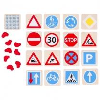 Memo, znaki drogowe GOKI